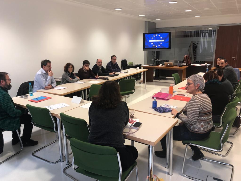 GEINNOVA IMPARTIÓ UN CURSO PARA LOS FUNCIONARIOS DEL AYTO DE ZARAGOZA ACERCA DE PROYECTOS EUROPEOS