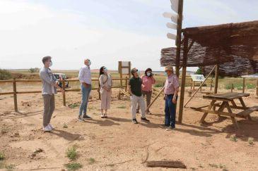 El proyecto de GEInnovación: Municipio de Tornos convierte un vertedero ilegal en un mirador de aves en la laguna de Gallocanta